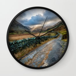 Valley Sunlight Wall Clock