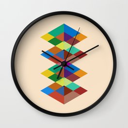 Abstract #721 Wall Clock