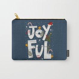 Joyful Holiday Carry-All Pouch