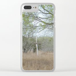 Abandoned Cross Clear iPhone Case