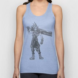 Cloud Strife Final Fantasy VII Unisex Tank Top