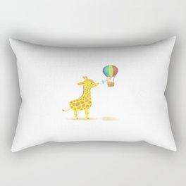 Friends in High Places Rectangular Pillow