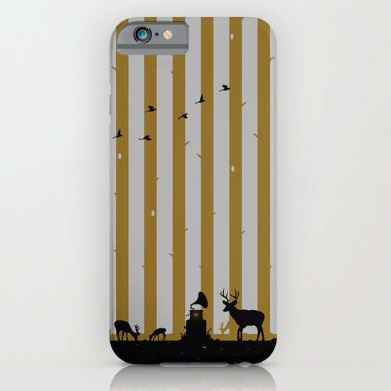 Gold Deer Song iPhone & iPod Case