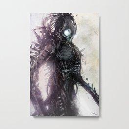 Menace Metal Print