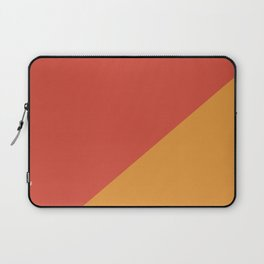 Warm Red & Orange - oblique Laptop Sleeve