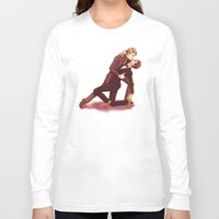 dancing Long Sleeve T-shirts featuring DANCING by FISHNONES