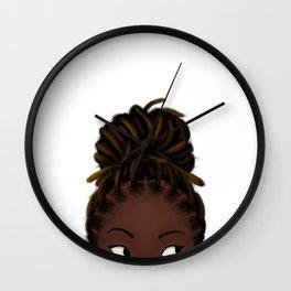 Peek 2 Wall Clock