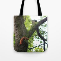 runner Tote Bags featuring Runner by Cristina Cavallari