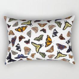 Butterflies All Over Rectangular Pillow