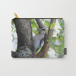 Woodpecker in a Park Tree Carry-All Pouch