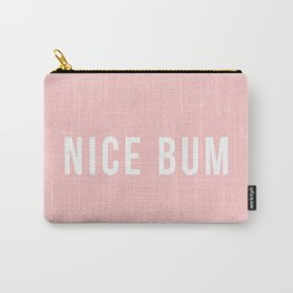 Nice Bum (pink background) Carry-All Pouch
