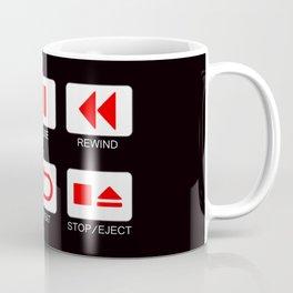 Music Player Button Coffee Mug