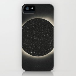 Black hole perspective iPhone Case