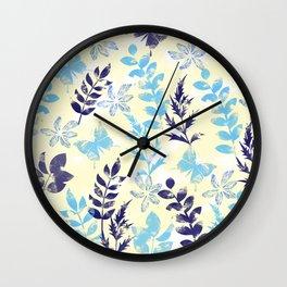 Floral Pattern VI Wall Clock