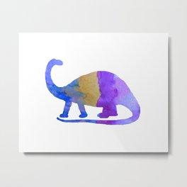 Brontosaurus Metal Print