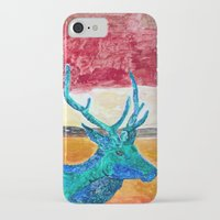 rothko iPhone & iPod Cases featuring Deer Rothko by winterkl