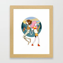Marcy & Bonnie Framed Art Print