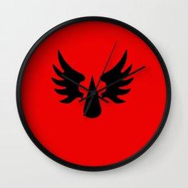 Warhammer 40k Blood Angels Minimalist Poster Wall Clock