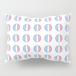 Parody of the french flag 7 -France,Paris, pink, Marseille, lyon, Bordeaux,love, girly,fun,idyll,Nic Pillow Sham