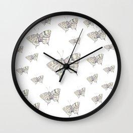 Misses batterfly Wall Clock