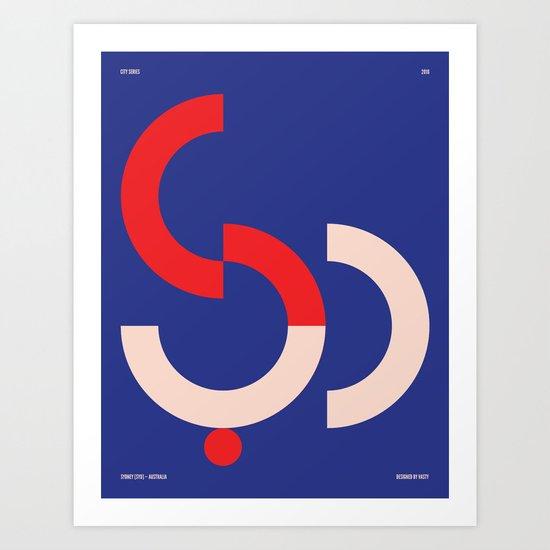 Sydney — City Series Art Print