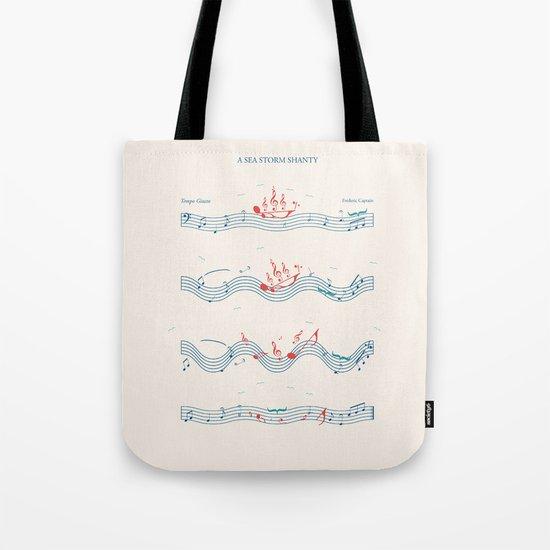 Nautical Notation Tote Bag
