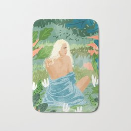 Jungle Vibes Bath Mat