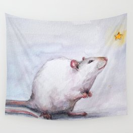 Wishing on a star Wall Tapestry