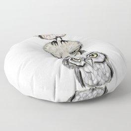 Owl Totæm Floor Pillow