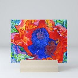 Japanese Poppy No.9 Mini Art Print