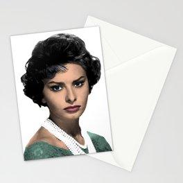SOPHIA L O R E N Stationery Cards