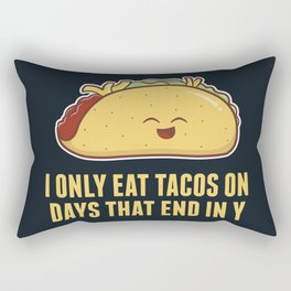 Every Day is Taco Day Rectangular Pillow
