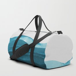 Ocean waves paint Duffle Bag