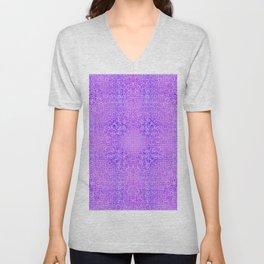 Brian's Bubbliscious Pattern (Grape Fizz) Unisex V-Neck