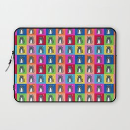 Pussy Cat illustration pattern Laptop Sleeve