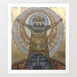 ETERNAL CREATION Art Print