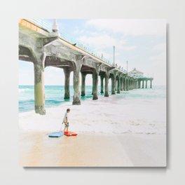 California Colors - Pier - v13 Metal Print