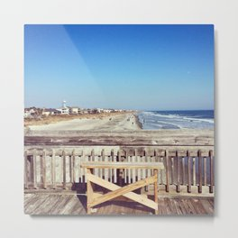 Folly Pier 2 Metal Print