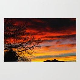 Fire Sunset Rug