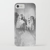 rushmore iPhone & iPod Cases featuring Rushmore at Night by Peaky40