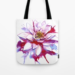 Bleeding Lotus Tote Bag