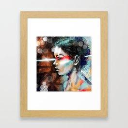 Nova Spike Framed Art Print
