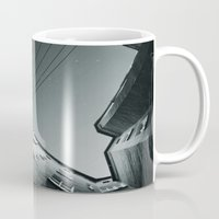 sci fi Mugs featuring sci-fi 1 by anapt