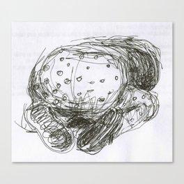 Bum Canvas Print