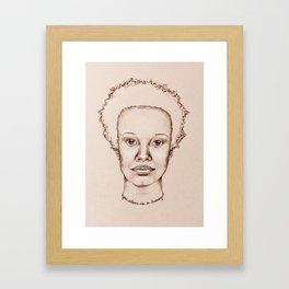 Your Silence is a Luxury Framed Art Print