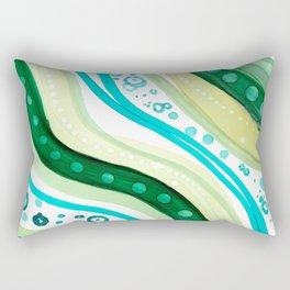 Abstract Ocean Rectangular Pillow