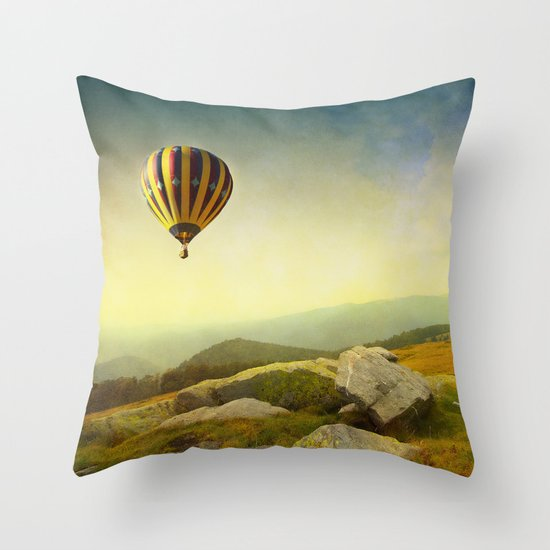 Keys to Imagination II Throw Pillow