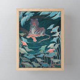 Endangered Tiger Framed Mini Art Print