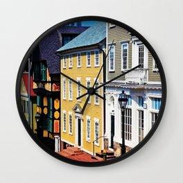 H.P. Lovecraft's Fleur-de-Lys building Providence, Rhode Island Photograph #1 Wall Clock