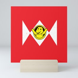 Happy Saurus Mini Art Print